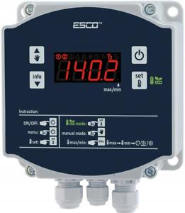 Temperaturregler IP65 Differenzregler zwei Sensoren 20A Steuerausgänge 4500W AP