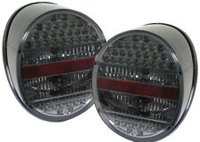 Black smoked color finish LED tail rear lights for VW old Beetle from 72 - 85