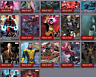 Topps Marvel Collect Card Trader X-men Weekly Wave 1 2 3 Composition Set w/Award