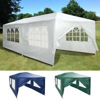 10'x20' Outdoor Party Tent Canopy Wedding Pavilion Marquee Cater Event 6 Walls
