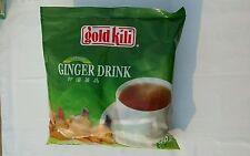 INSTANT GINGER TEA DRINK - GOLD KILI 40 Sachets Packet in 2 Bags