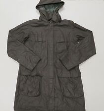 M0851 Mens Waterproof Small Field Military Jacket w/ Hood Rain Coat