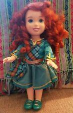 "Disney Brave Toddler Doll Princess  Merida, 15"" inch tall"