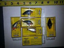LOT of 6 Storm Subwarts SUBW04 260 Shad Fishing lure crankbait wiggle wart NEW