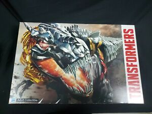 Transformers 2014 SDCC Dinobots Set With Pop-Up Headquarters Included Hasbro NEW