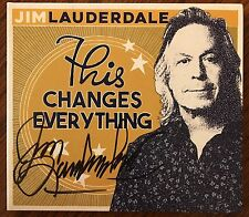 Jim Lauderdale This Changes Everything Signed CD Autographed