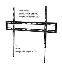 "iQ Low-Profile Flat Wall Mount for 47"" to 84"" Flat Panel TV's (IQXF4784)"