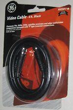 New listing Video audio cable 6ft black Av23217