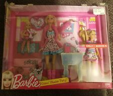 Kohls Exclusive Barbie Sisters Slumber Party Sleepover Doll Set Chelsea Stacie