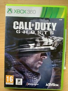 Call of Duty Ghosts 3 XBox 360 Video Game Classic First Person Shooter