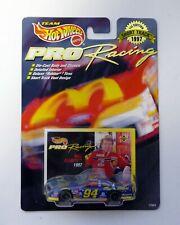 HOT WHEELS BILL ELLIOTT #94 Pro Racing Mac Tonight Diecast Car MOC COMPLETE 1996