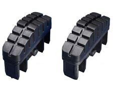 Ersatzteil 2 Leiternfüße HAILO Sprossenleiter Schiebeleiter 86x25mm     95999119