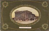 Liverpool, UNITED KINGDOM - St George's Hall - FRAMED - EMBOSSED & Gilded