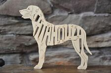 Catahoula Herding Dog Louisiana State  Wood Amish Dog Toy Puzzle