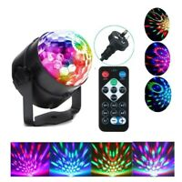 RGB LED Effect Disco Light Stage DJ Laser Lights Club Party Crystal Magic Ball