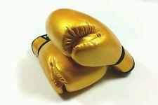 SIBIGA 6oz Gold Kids boxing gloves.kickboxing.muay thai karate.sparring