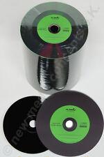 Vinyl CD-R Carbon, 100 Stück, 700 MB zum archivieren, Labelfarbe: grün