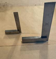Vintage Starrett Machinist Precision Steel Square No 20 6 With 3 12 Square