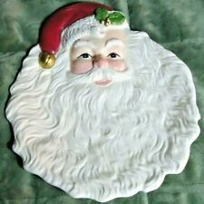Fitz & Floyd Santa Claus Plate - Oci 1993 Christmas Holiday Tray Serving Dish