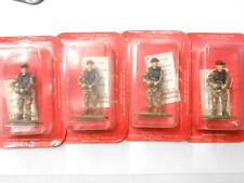 4 x 1/32 scale Metal Figures Frontline New Zealand Commando Figures