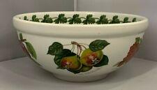 "BRAND NEW  Portmeirion Pomona Pattern 8"" Fruit / Salad Bowl - MADE IN ENGLAND"