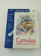 Cumulus Canto 4.0 Media Management Software; new in box (shrink wrapped)