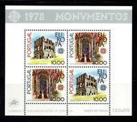 Portugal 1978 Mi. Bl. 23 Block 100% Postfrisch Europa CEPT, Castelli