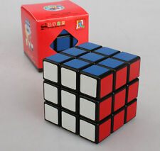 "Shengshou ""wind"" 3x3x3 speed magic cube Twist  Puzzles Toys gift Black"