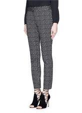 Diane Von Furstenberg 'Genesis' polka dot cropped pants sz 14 NWT 5912903N15
