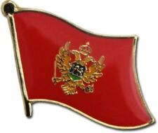 Montenegro Country Flag Bike Motorcycle Hat Cap lapel Pin