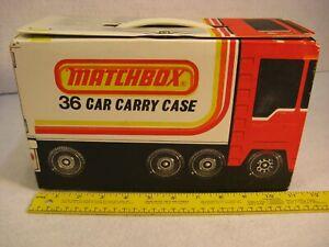 Vintage Matchbox Transport Truck - 36 Car Carry Case