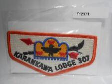 KARANKAWA LODGE 307 ORANGE BORDER FLAP F12371