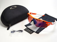 Oakley Radarlock Blood Orange Sonnenbrille M Frame Radar Jawbone Jacket Flight X