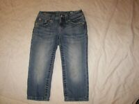Girls Miss Me Stretch Capri Jeans - Size 8 - JK7031P