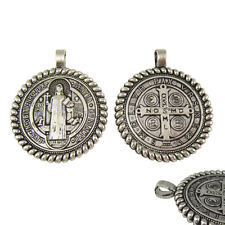 50pcs of 1.5 Inch Blessed Saint Benedict San Benito Jubilee Medal Pendant