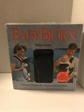 Baby Bjorn Baby Carrier (Plaid) - Made In Sweden Original Box with Instructions
