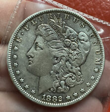 More details for us silver dollar 1882 o