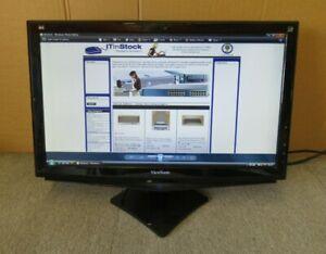 "ViewSonic VA2248-LED 22"" LCD TFT LED Thin Bezel Widescreen Monitor VGA DVI"
