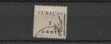 1918 USED Curaçao hulp uitgifte