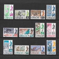 VG/F (Very Good/Fine) Used Gibraltar Stamps