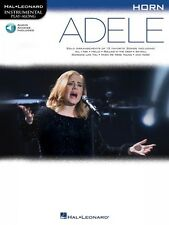 Adele Horn Instrumental Play-Along Book and Audio New 000159656