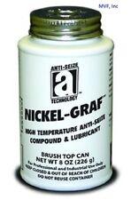 ANTI-SEIZE 13008 NICKEL-GRAF HIGH TEMP 8 oz. BRUSH TOP CAN <150ER05
