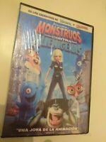 Dvd Monstruos contra alienigenas  (PRECINTADO)
