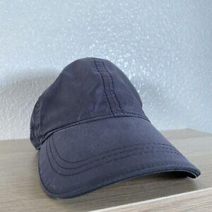 Lululemon Active Hat One Size Dark Gray Light Running Curved Brim Strapback Cap