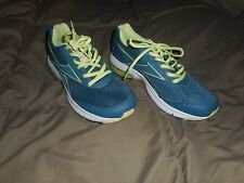 Ladies Reebok Fuseride Teal/Lime Green Running Shoes  Size 9
