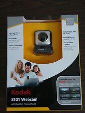 New Kodak S101 Webcam, Built-In Microphone Use w/ Facebook, YouTube, Skype