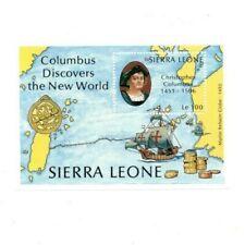 VINTAGE CLASSICS - Sierra Leone 913 - Columbus - Souvenir Sheet - MNH