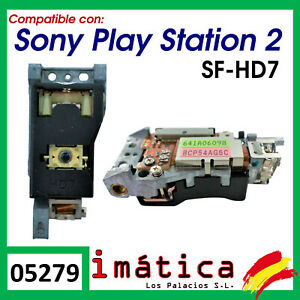 LENTE PARA PS2 SONY PLAY STATION 2 SF-HD7 SCPH-5000X SERIES LASER LECTOR JUEGO
