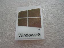 1 pcs Windows 8 sticker decal label Sparkling Purple Metallic colour 16mm x