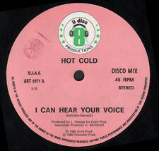 HOT COLD - I Can Hear Your Voice - Il Discotto Productions